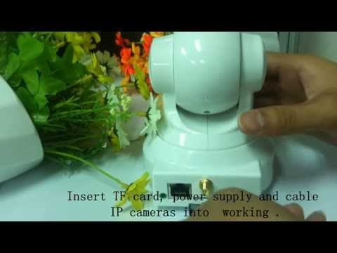 IP Camera SD Card Installation Instruction,IP Camera With SD Card