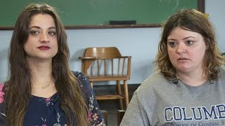 Sisters separated at birth meet in college writing class