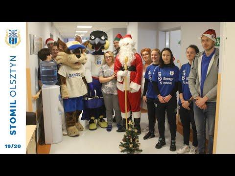 Mikołaje ze Stomilu Olsztyn rozdawały prezenty