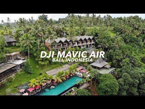 DJI MAVIC AIR / HUBUD POOL PARTY (CRAZY FUN)