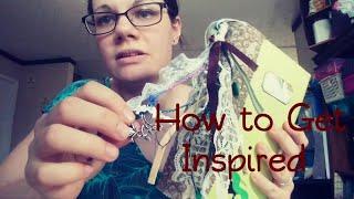 How I Get Inspired / Graphics Fairy Premium Membership / Journal Set Sneak Peek