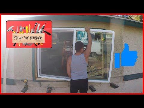 Como Instalar o Cambiar una Ventana - window installation replacement