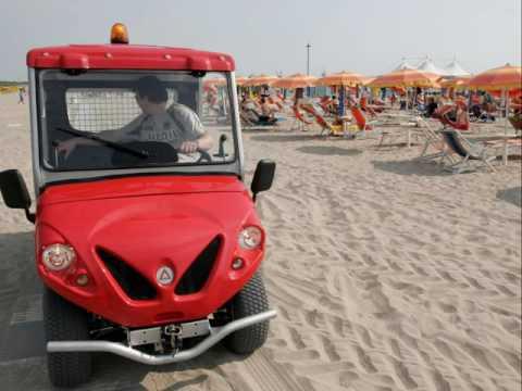 Elektro Golfcart für Strände - www.alke.eu