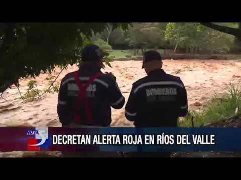 Alerta roja por creciente de rios