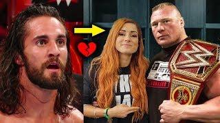 Becky Lynch & Brock Lesnar Secret Affair? 5 Rumored New Storyline Plans for Becky & Seth Rollins