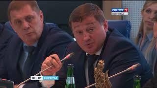 Репортаж с торжественного собрания, посвященного 20-летию контрольно-счетной палаты Волгоградской области