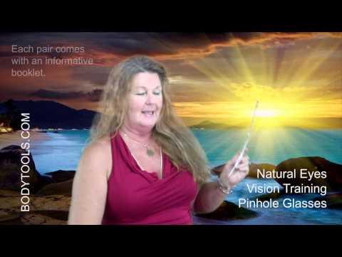 Natural Eyes Vision Training Pinhole Glasses - YouTube