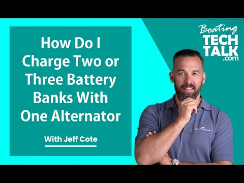 Can I Charge Two or Three Battery Banks With One Alternator?