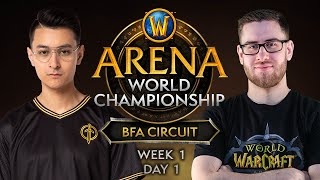 AWC BFA Circuit | Week 1 - Day 1 | Full VOD