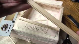 Tutorial - Tea Time Altered Cigar Box