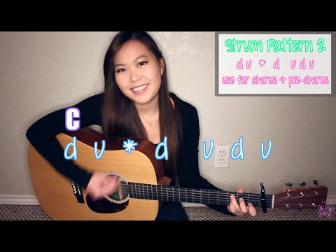 Guitar Chords With Strumming Patterns Stitches Shawn Mendes