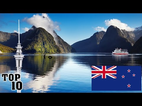 Video Top 10 Things To Do In New Zealand