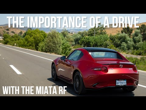 The Importance Of Going For A Drive: Illustrated By The 2021 Mazda Miata RF