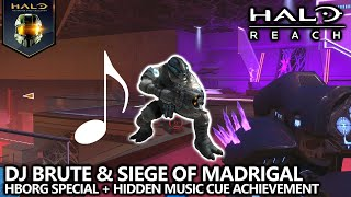 Halo Reach - DJ Brute & Siege Of Madrigal Easter Eggs - HBO Special & Play Us A Sad Song, Claude