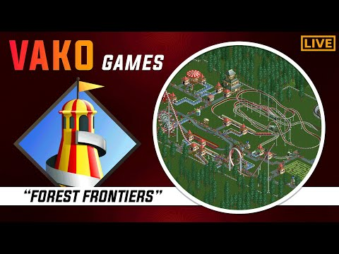 RollerCoaster Tycoon Gameplay Walkthrough Part 1 Forest Frontiers [1