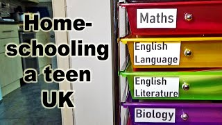 Homeschooling a Teen in the UK: Update - The GCSE Years.