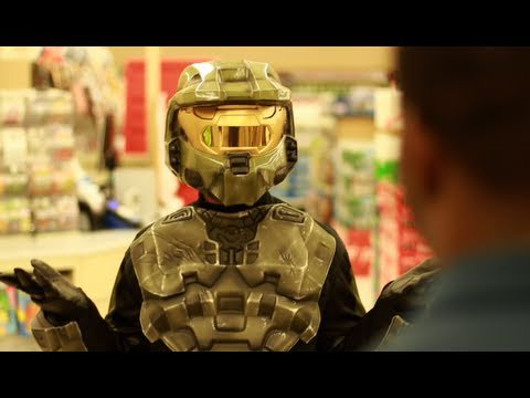 Master Chief Needs Groceries Too, You Know