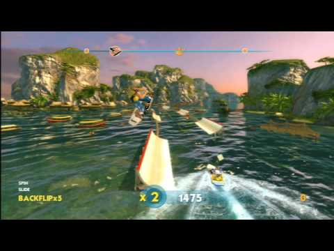 Classic Game Room – WAKEBOARDING HD for PS3 review