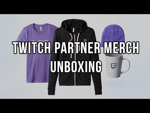 Unboxing fialové krabice od twitch.tv