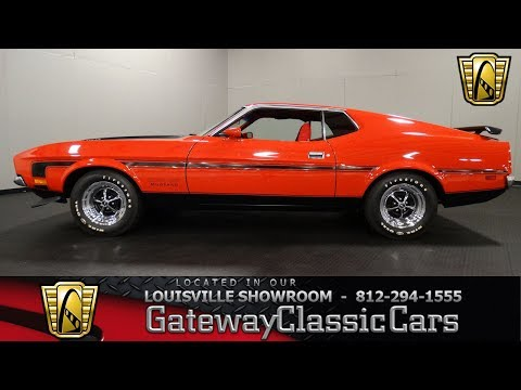 Video of '71 Mustang - L6RZ
