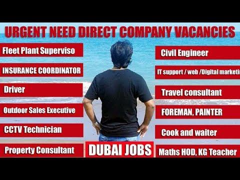 latest Direct Dubai jobs from company | HINDI URDU | TECH