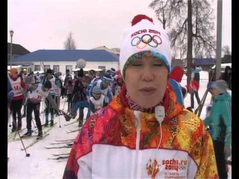Закрытие лыжного сезона 2016 в селе Калтасы