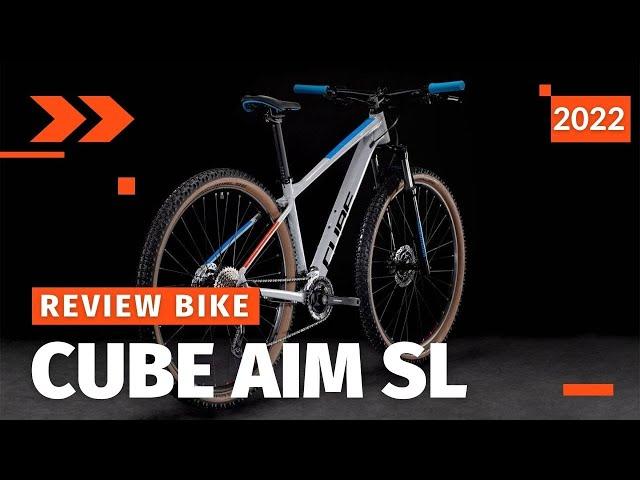 Видео Велосипед Cube Aim SL (Graphite'n'Metal)