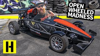 1,200lbs and 365hp: SUPER Light Ariel Atom Weighs less than Shartkart!