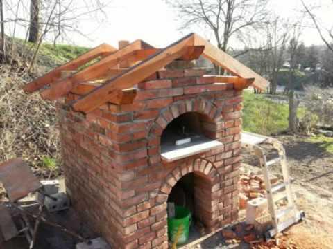Holzbackofen, Pizzaofen, Lehmofen selber bauen