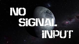 """Video SYNTH-ME LABEL PRESENTS: N8STROM2618 """"No Signal Input"""""""