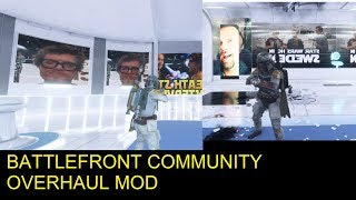 BATTLEFRONT COMMUNITY OVERHAUL MOD STAR WARS BATTLEFRONT II