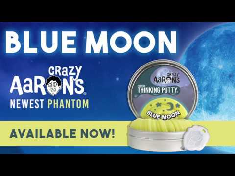 Youtube Video for Blue Moon Putty - Glows In The Dark USA