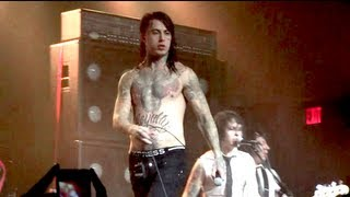 Falling In Reverse Live in Detroit 2012: Tragic Magic