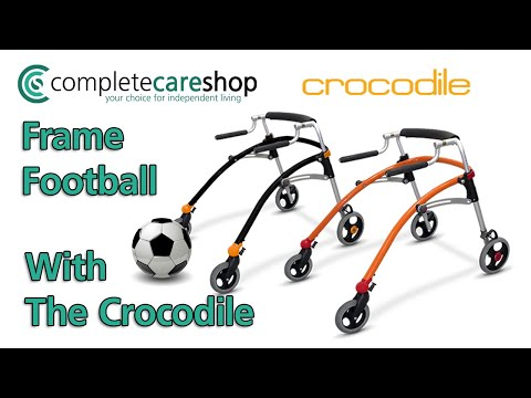 Frame Football with The Crocodile Walker