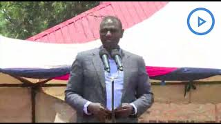 Ruto rallies to lock rivals out of Rift Valley - VIDEO