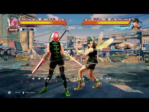 [Tekken 7] Alisa: Converting to the wall in a creative way