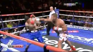 Kell Brook vs Alvaro Robles - Highlights