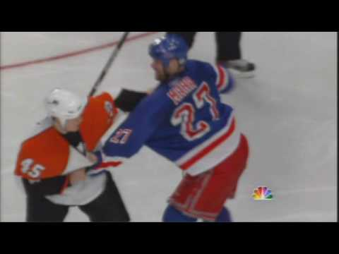 Paul Mara vs. Arron Asham