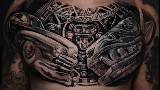 🔸FULL CHEST + COVERUP DONE IN ONE DAY 🔸TIME LAPSE TATTOO 🔸( BY MR.REYES_INK)