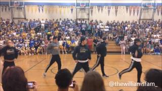 Benicia High Step Down Rally | Mac Dre - Thizzle Dance | The Williams Fam