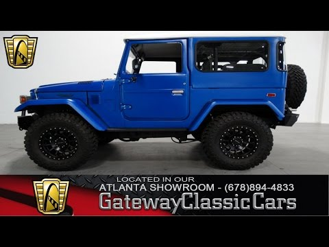 1974 Toyota FJ40 Landcruiser - Gateway Classic Cars Of Atlanta #73