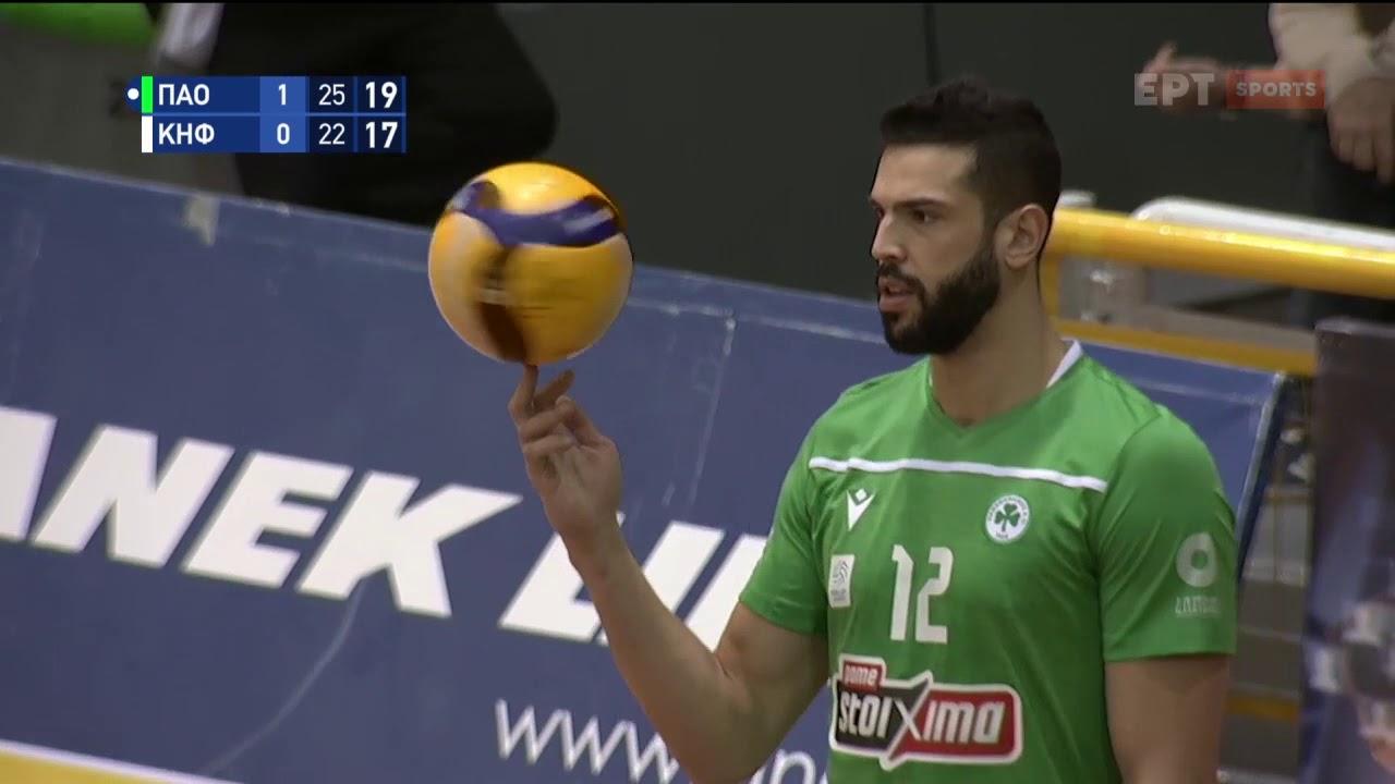 Volley League | Ρανγκέλ: Έτοιμος για τον ποδοσφαιρικό Παναθηναϊκό ο Βραζιλιάνος | 11/02/21 | ΕΡΤ