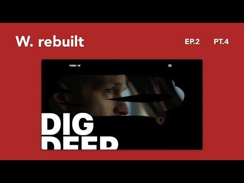 Awwwards Rebuilt Episode 2   Rebuilding Awwwards Websites using React & Framer Motion   Part 4