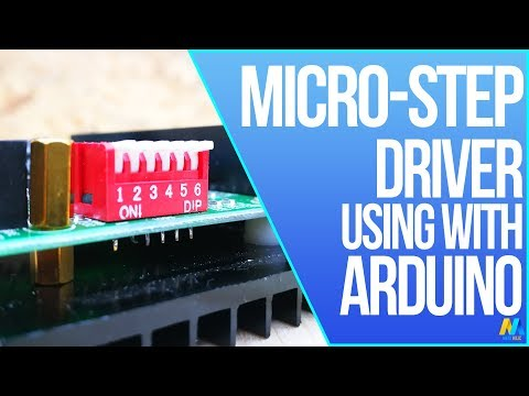 Stepper Motor control with Arduino and TB6600 driver (High speed