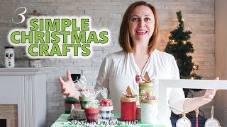 Three Simple Christmas Crafts To Make! The DIY Mommys 2018 DIY Decor Challenge