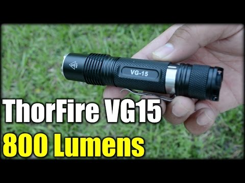 ThorFire VG15 LED Flashlight| EDC 800 Lumens