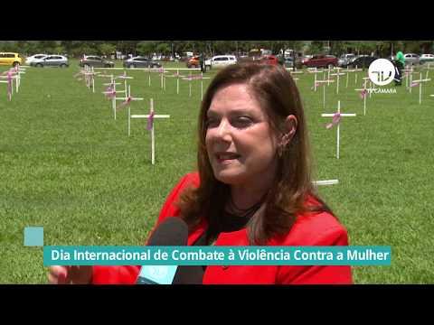 Câmara homenageia Dia Internacional do Combate a Violência Contra Mulher - 25/11/19