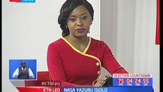 NASA ulipiga kambi Isiolo wakirejelea msimamo wao wa kwanza kuwa kura zihesabiwe katika maeneo bunge