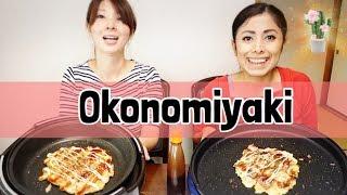 Aprende a hacer okonomiyaki desde Cero! con ingredientes fáciles! MIO Y DE SANDY
