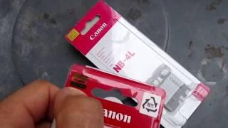 Spotting Fake Canon Camera Batteries NB-4l NB-11LH